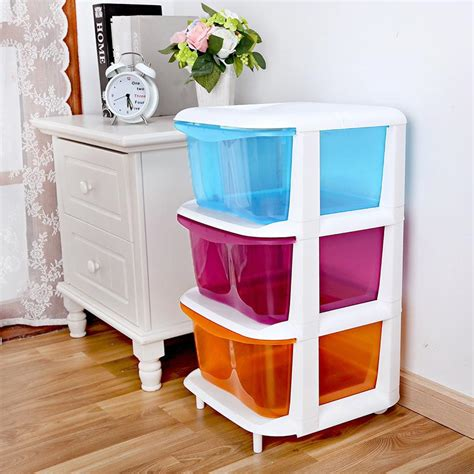 Childrens Storage Cupboards - children three drawer storage cabinets baby bedroom