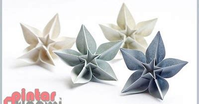 cara membuat origami bunga karambola gambar origami bunga carambola cara membuat origami