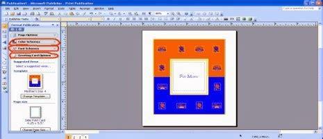 membuat kartu ucapan dengan microsoft publisher cara membuat kartu ucapan selamat hari ibu dengan