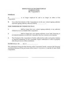 corporate resolution template corporate resolution template california corporation