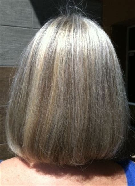 pictures of grey hair with lowlights hair color for gray heads grey hair with highlights