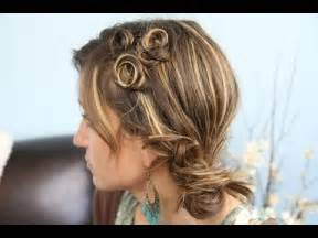 Coil accents back to school cute girls hairstyles makeup videos