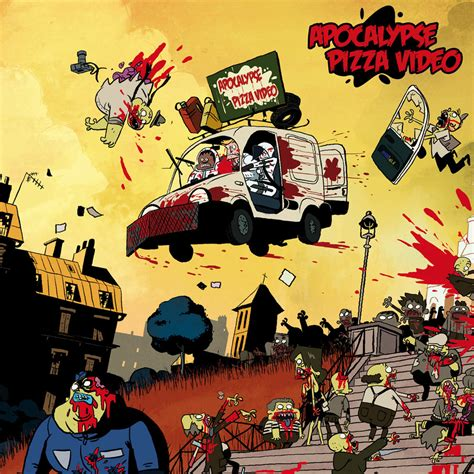cartoon zombie film 2012 apocalypse pizza trailer for awesomely bloody animated