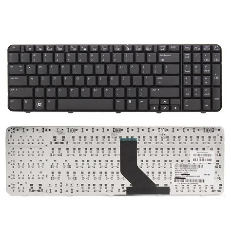 Keyboard Hp Compaq Presario Cq40 Series Black 1 us laptop keyboard replacement for hp compaq cq60 g60 series layout black ebay