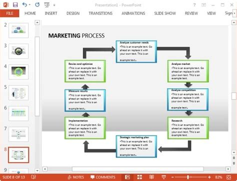 Free Marketing Plan Template For Powerpoint Marketing Plan Powerpoint Template