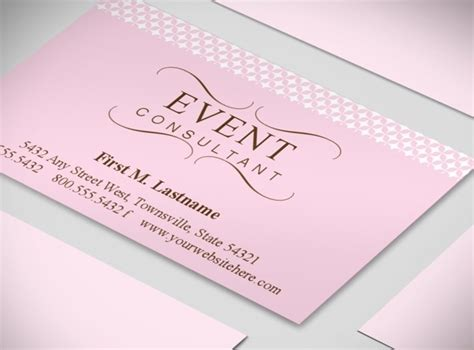 wedding business card template wedding event planner business card templates