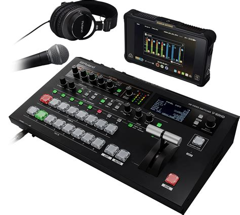 Mixer Audio Roland roland digital switcher mixer with audio and