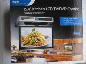 flip down tv rca kitchen lcd tv dvd combo 15 4 quot under
