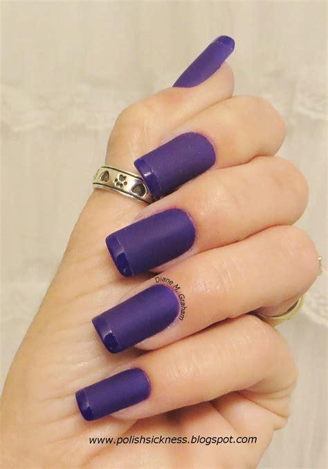 matte purple nail custom nail solutions