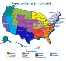 resource map of u s department of labor office of workers compensation