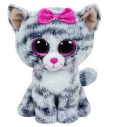 beanie boos kiki grey cat toys toyworld