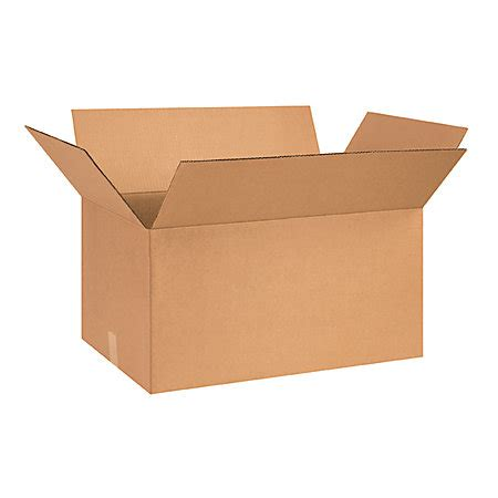 26inl x 15inw x 12ind corrugated shipping boxes by office