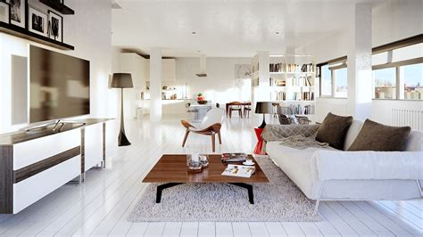 white loft wondrous white three lofts with clean bright interiors