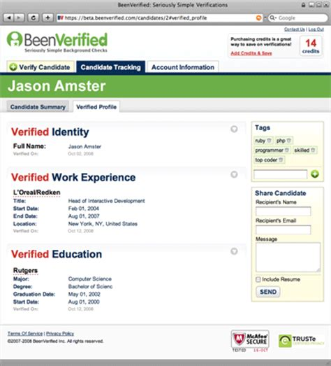 Background Check Beenverified Beenverified