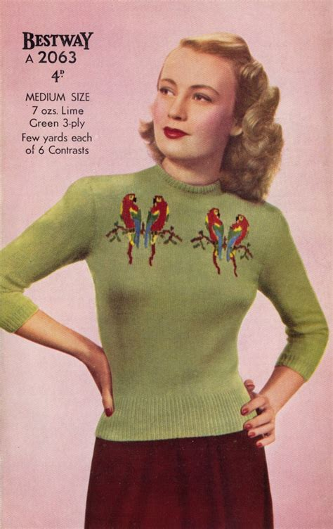 Sweater Distro Murah Birds Polka 1122 best 1940s images on vintage fashion 1940s dresses and 1940s fashion