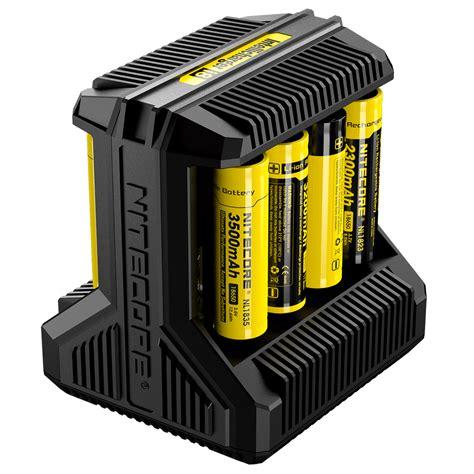 18650 2 Slot Battery Charger battery chargers nitecore i8 multi slot 18650 dual usb