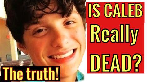 how did die caleb logan died the