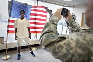 Army Reserve Criminal Record Here At Home Army Battles To Attract Qualified Recruits The Seattle Times