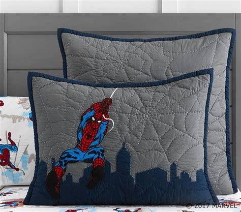 Cityscape Bedding by Spider Man Cityscape Quilt Pottery Barn
