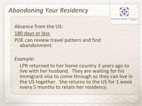 Cbell May Lose Us Work Visa by Bashyam Spiro Llp Losing Permanent Residency