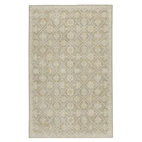 Grey Area Rugs Home Depot Home Decorators Collection Montpellier Grey 8 Ft X 11 Ft Area Rug 1997630270 The Home Depot