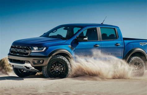 ranger ford 2018 2018 ford ranger raptor unveiled gets 2 0tt with 10 spd