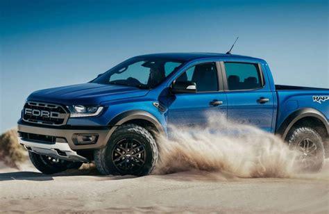 ford ranger raptor 2018 ford ranger raptor unveiled gets 2 0tt with 10 spd