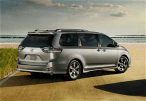 Toyota 2006 Sliding Door Recall Toyota Recalls 834 000 Minivans To Fix Sliding