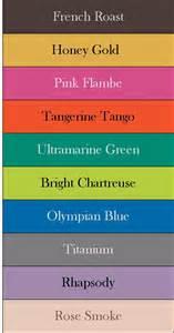 best colour names pantone s fall 2012 color report favorite combos