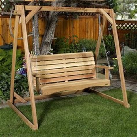 pdf free standing porch swing plans free