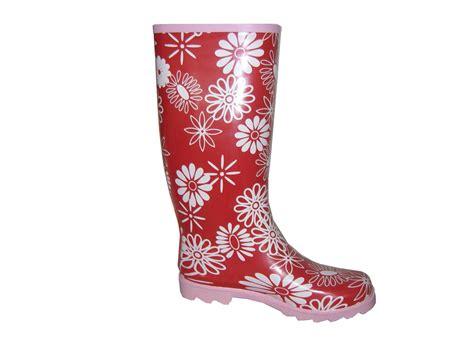 flower pattern boots china ladies flower pattern rain boots china rain boots
