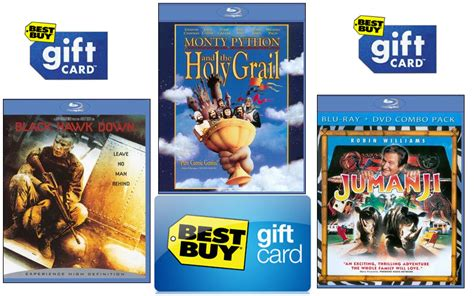 Rays Gift Card - best buy select blu rays 4 99 shipped after gift card southern savers