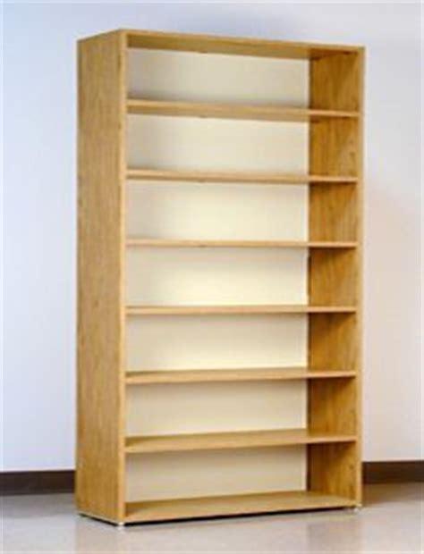 """7 Tier, 48"""" Wide, Laminate Wood Open Shelf File Cabinet"""