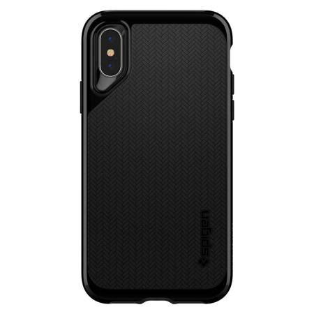 spigen neo hybrid iphone xs jet black