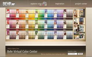 behr paint colors chart paint goes digital