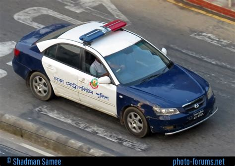 2017 Colors Of The Year by Bangladesh Police Hyundai Sonata Police Car Photos