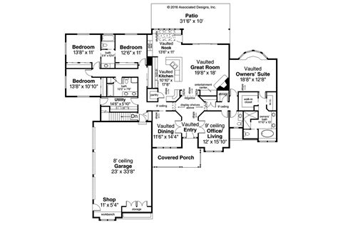 110 5 bedroom floor plans with basement projects ideas 5
