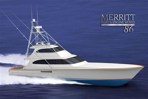 roy merritt boats merritt sportfish applied concepts unleashed yacht design