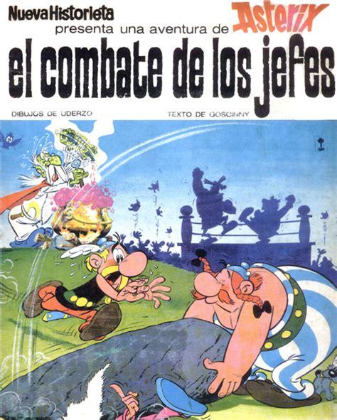 libro asterix el combate de comics compartidos asterix en el combate de los jefes 1966