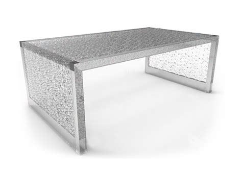 plexi craft coffee table lucite acrylic tables benches by plexi craft