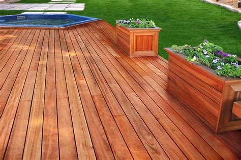 best decking material outdoor decking material with flower decoration choosing