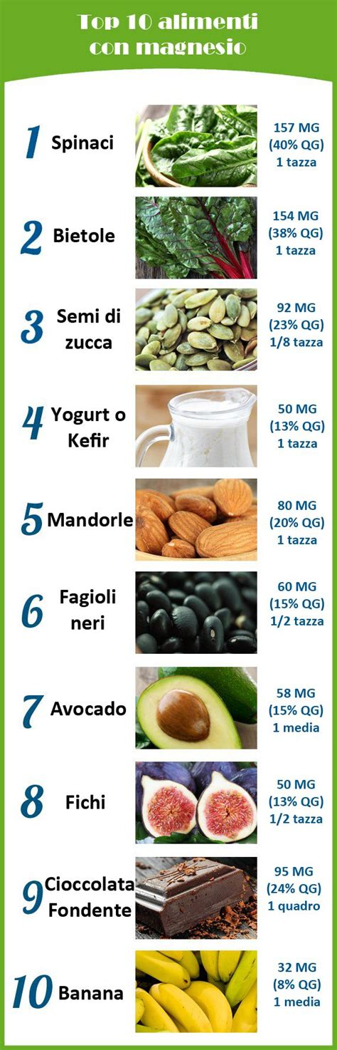 alimenti con magnesio 565 best images about on