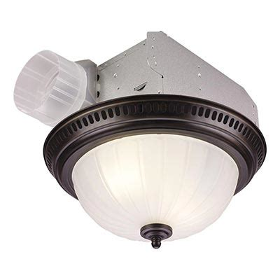 Bathroom Ceiling Light And Fan Bath Fans Bathroom Fans Lights Exhaust Fans And More At The Home Depot