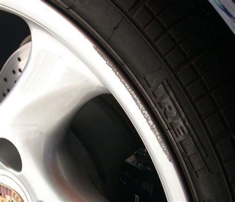 wheel scuff repair on alloy wheels how to guide
