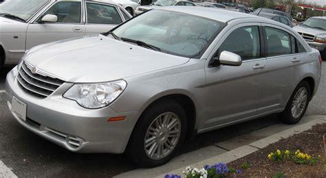 2007 Chrysler Sebring Sedan by File 2007 Chrysler Sebring Sedan Touring Jpg Wikimedia
