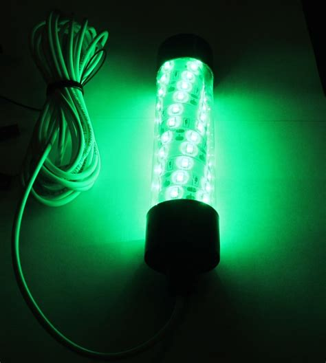 12v Led Green Underwater Submersible Night Fishing Light
