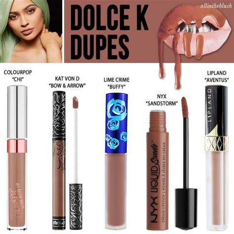 Lipkit Lip Kit 4in1 Posie Exposed jenner lip kit dupes we can t believe we found