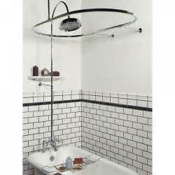 Bath And Shower Kits Sheffield Deck Mount Hotel Style Solid Brass Shower