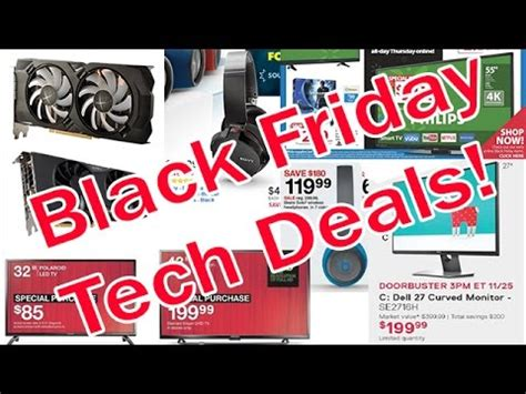 more black friday tech deals 2016 electronics sales part 2