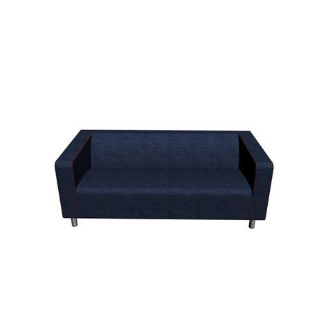 ikea klippan couch klippan loveseat vansta dark blue design and decorate